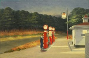 Edward Hopper Gas 1940 The Museum of Modern Art NY