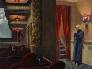 Edward Hopper. New York Movie, 1939, Museum of Modern Art, New York.