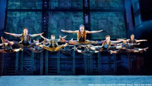 """Newsies at Cadillac Palace Theatre thru Aug. 7"