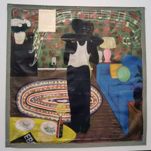 Kerry James Marshall Slow Dance 1992-93 The David and Alfred Smart Museum of Art, University of Chicago