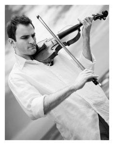 Violinist Stefan Milenkovich