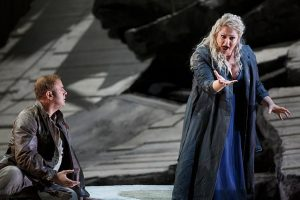Lucas Meacham and Christine Goerke in Les Troyens. Todd Rosenberg photography