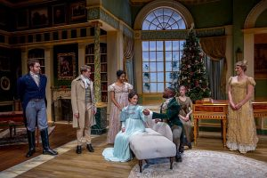 Cast of 'Miss Bennet: Christmas at Pemberley' Charles Osgood Photography