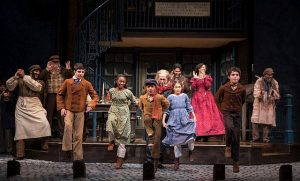 Cast of 'A Christmas Carol' at Goodman Theatre