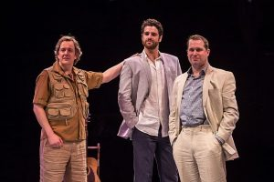 Derek Hasenstab, Peter Saide, Karl Hamilton are Sophie Sheridan's possible dads. Photo by Liz Lauren