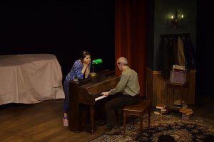 Charlotte Mae Ellison (Kiddo) and Mark Ulrich (Pops) in 'Upright Grand.' Photo by North Shore Camera Club