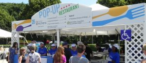 Taste of Chicago has pop ups, food trucks, and five-day vendors. City of Chicago photo