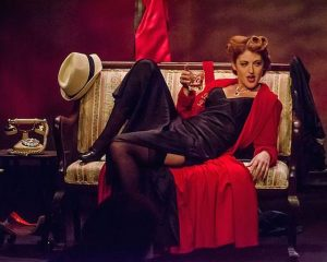 Jessica Sherr does 'Bette Davis Ain't for Sissies' at the Athenaeum Theatre. Photo courtesy of Jessica Sherr