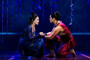 Manna Nichols and Kavin Panmeechao as doomed lovers in 'King and I.'