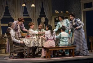 "The extended Miller family in Eugene O'Neill's ""Ah, Wilderness!"" at Goodman Theatre. Photo by Liz Lauren"
