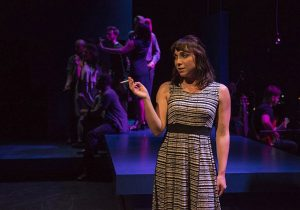 "Nicole Laurenzi and cast of ""Little Fish."" Michael Brosilow photo"