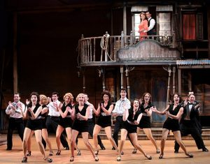Crazy for You cast and ensemble at Drury Lane. Brett Beiner photo