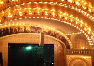 The Auditorium Theatre is worth seeing even when there isn't a show. Jodie Jacobs photo