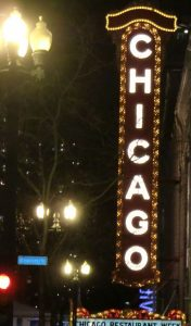 The Chicago Theatre hosts a variety of shows. Jacobs photo