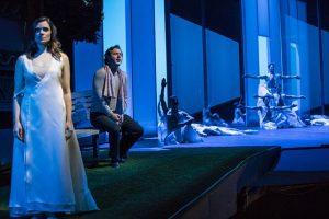 Andriana Chuchman, Dimitrhy Korchak and Joffrey Ballet in Lyric opener.