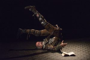 Henry Godinez as Don Quixote at Writers Theatre. (Michael Brosilow photo)