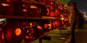 Great Highwood Pumpkin Festival has thousands of lit pumpkins at night and fun activities during the day. (Highwood photo)