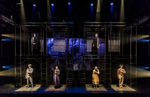 Cast of 'Hard Times' at Lookingglass Theatre. Liz Lauren photos