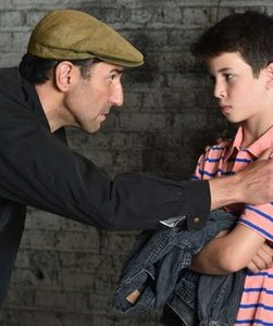 Sean Fortunato and Jacob Kaiser in 'Billy Elliott. Photo by Michael Courier