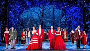 "Cast of ""White Christmas"" at Cadillac Palace Theatre."