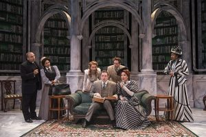 Cast of 'The Importance of Being Earnest' at Writers Theatre. Michael Brosilow photo