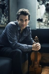 Grammy award-winning violinist Phillipe Quint. Photo by Lisa Marie Mazzucco, from Lake Forest Symphony