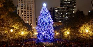 City of Chicago Tree lighting is Nov. 17, 2017. City of Chicago photo.