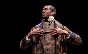 Dion Johnstone (Ira Aldridge) playing Othello (Photo by Liz Lauren)