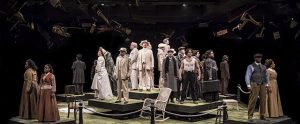 Cast of 'Ragtime' at Marriott Theatre. Liz Lauren photo