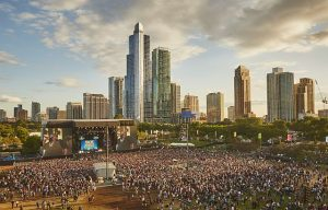 Lollapalooza 2017 Arial photo by Cambria Harkey