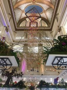 Enjoy Spring inside Macy's on State. Jodie Jacobs photos