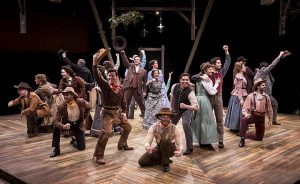 Cast of 'Oklahoma' at Marriott Theatre.