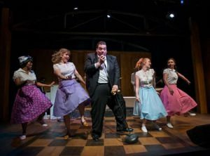 Angela Alise, Liz Chidester, Vasily Deris, Ann Delaney and Molly Hernanez (Preview) in Buddy: The Buddy Holly Story.
