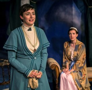 Stephanie Stockstill and Rachel Guth in BoHo Theatre's A Little Night Music