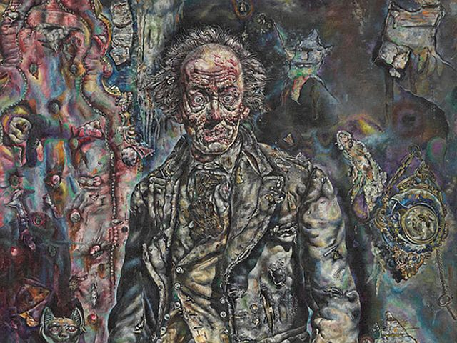 Ivan Albright. Picture of Dorian Gray, 1943/44. Gift of Ivan Albright. © The Art Institute of Chicago.