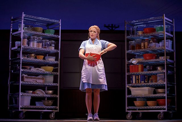 Desi Oakely (Jenna) determines her pies' names and ingredients according to what is happening in her life in Waitress the Musical.