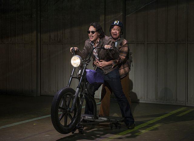 Matthew Yee, Rammel Chan on their motorcycle journey in 'Vietgone' (Michael Brosilow Photo)