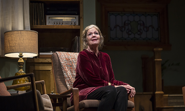 Linda Gehringer in Lady in Denmark at Goodman Theatre (Liz Loren photo)