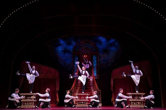 """""""The Waiters Gallop"""" in Hello, Dolly"""
