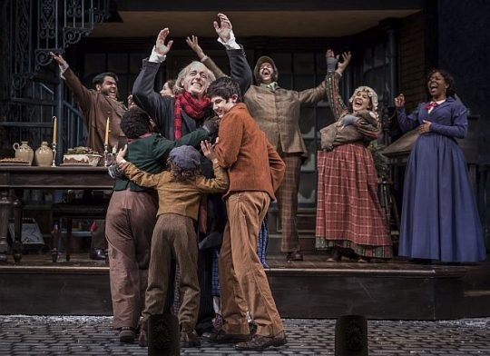 A Christmas Carol At Goodman Theatre (2017 photo by Liz Lauren)