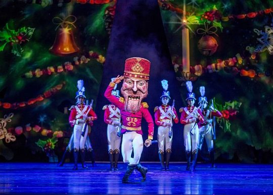 Alberto Velazauez in The Nutcracker. (Photo by Cheryl Mann)