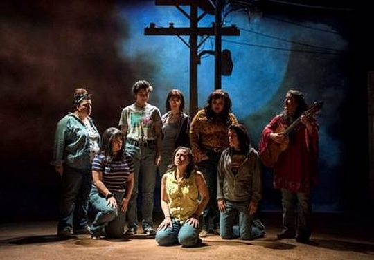 Cast of La Ruta at Steppenwolf