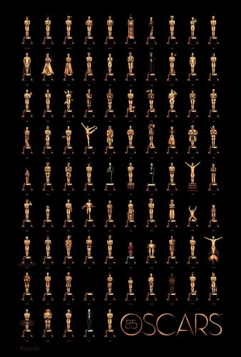 Photo from the 85th Oscars (Photo courtesy of the Adademy)