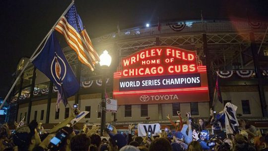 Cubs championship photo (Courtesy of William Marovitz)