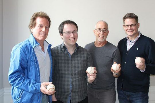 From left, William Marovitz, Michael Mahler, Jason Brett and Damon Kiely. (Photo courtesy of William Marovitz)