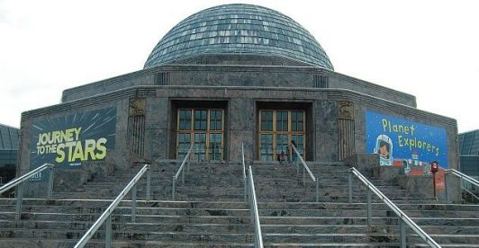 Adler Planetarium has free days and discounted tickets. (J Jacobs photo)