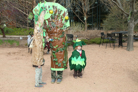 Dress as a tree during Morton Arboretum's Arbor Day celebration to get in free. (Photo courtesy of Morton Arboretum)