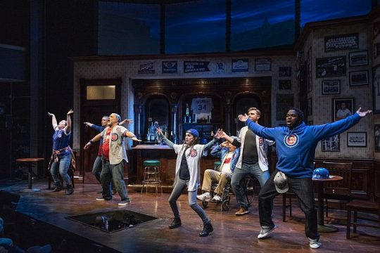 Cast of Miracle The Musical 108 years in the Making at Royal George Theatre. (Photo by Michael Brosilow)
