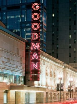 Goodman Theatre on Dearborn at Randolph (Goodman photo)