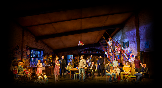 Cast of 'The Ferryman' which won four Tony Awards. (Photo courtesy of The Ferryman Production.